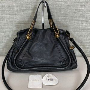 Chloe Paraty Black Bag Medium